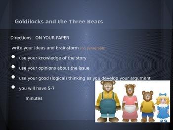 Pearson Middle School Argumentative Writing:  Lesson 4