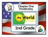 Pearson My World Social Studies Chapter 1 Vocabulary Grade 2