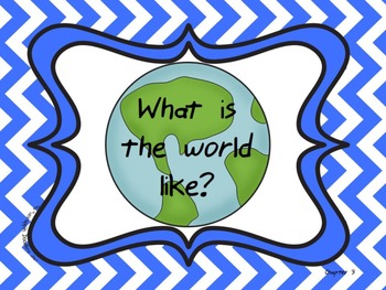 Pearson My World Social Studies Essential Questions 1st Grade