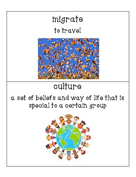 Pearson My World Social Studies Grade 5 Ch. 1 Vocabulary: The First Americans