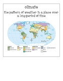 Pearson My World Social Studies Grade 5 Ch. 4 Vocabulary: