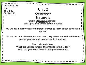 Pearson MyView Literacy Unit 2 Lesson 1