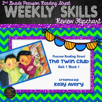 2nd Grade Reading Street The Twin Club 1.1