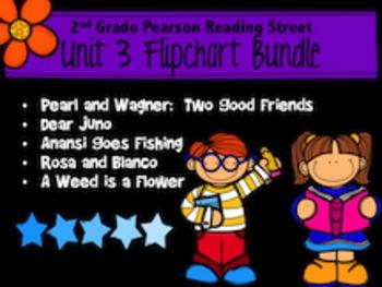 2nd Grade Reading Street Unit 3 Bundle