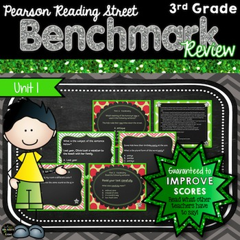 Reading Street Unit 1 Benchmark Review 3rd Grade