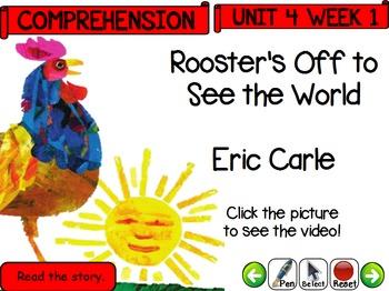 Pearson Reading Street -Kindergarten Daily Flip Chart Unit