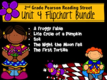 2nd Grade Reading Street Unit 4 Bundle