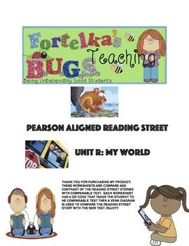 Pearson Reading Street Venn Diagram R.3 Tip and Tam