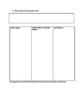 Pearson Reading Street Writing to Sources Graphic Organizer
