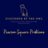 Pearson Square Problems
