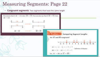 Pearson Success Geometry Notes Editable