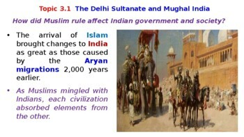 Pearson World History Powerpoint Topic 3