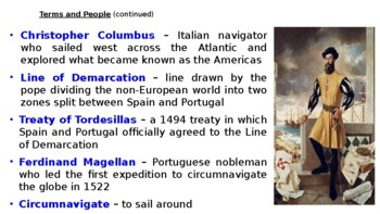 """World History Pearson 2018 Powerpoint Topic 5 """"New Global Connections"""""""