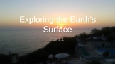 Pearson interactive Science-Earth's Surface Chapter 1 lesson 1