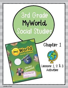 Pearson myWorld My World Social Studies Grade 3 Chapter 1