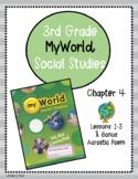 Pearson myWorld My World Social Studies Grade 3 Chapter 4