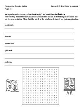 Pearson myWorld My World Social Studies Grade 3 Chapter 6