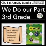 Pearson myWorld My World Social Studies Grade 3 Chapters 1-8 Bundle