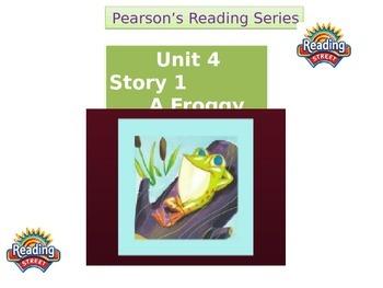"""2nd grade   story 4. 1 """"Froggy Tale"""" Spelling & HF words"""