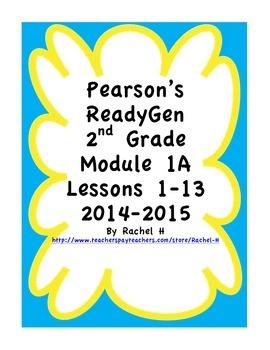 Pearson's Ready Gen 2nd grade, Lessons 1-13 (Charlotte's Web)