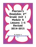 Pearson's Ready Gen 2nd grade, Lessons 1-5 (Charlotte's Web)