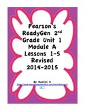 Pearson's Ready Gen 2nd grade, Lessons 1-5 (Charlotte's Web)