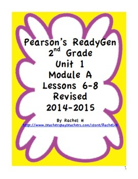 Pearson's Ready Gen 2nd grade, Lessons 6-8 (Charlotte's Web)