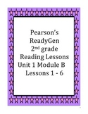 Pearson's Ready Gen 2nd grade, Unit 1 Module B: Lessons 1 - 6 (On the Farm)