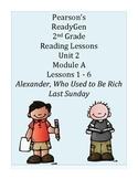 Pearson's Ready Gen 2nd grade, Unit 2 Module A: Lessons 1 - 6