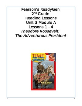 Pearson's Ready Gen 2nd grade, Unit 3 Module A: Lessons 1 - 4