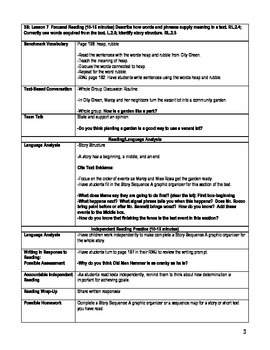 Pearson's Ready Gen 2nd grade, Unit 3 Module B: Lessons 7 - 12