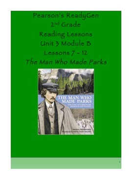 Pearson's Ready Gen 2nd grade, Unit 3 Module B: Lessons 7 - 12
