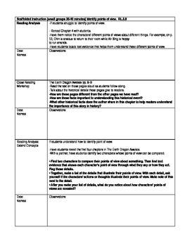 Pearson's Ready Gen 2nd grade, Unit 4 Module A: Lessons 1 - 3
