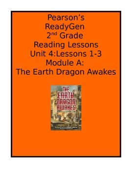 Pearson's Ready Gen 2nd grade, Unit 4 Module A: Lessons 1 - 3