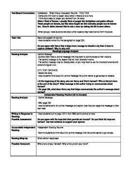Pearson's Ready Gen 2nd grade, Unit 4 Module A: Lessons 7 - 9