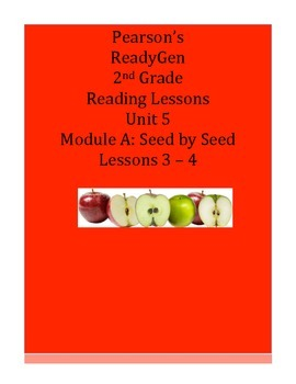 Pearson's Ready Gen 2nd grade, Unit 5 Module A: Lessons 3 and 4