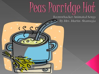 Peas Porridge Hot Boom Whacker Animated Song