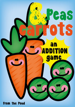 Peas and Carrots - A FREE Addition Game