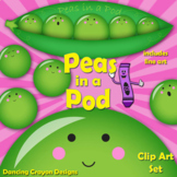 Peas in a Pod - Clip Art Peas in a Peapod