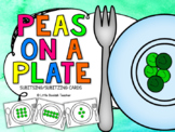 Subitising / Subitizing - Peas on a Plate