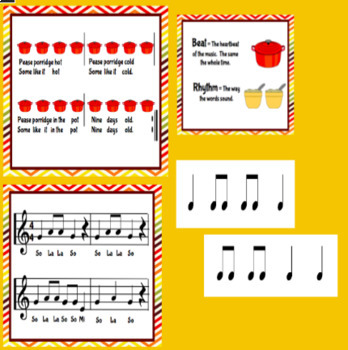 Pease Porridge: Beginning Rhythms to Recorder Playing