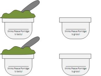Pease Porridge Mini-Lesson Bundle