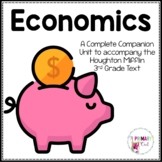 Pebble Go All About Money Research Booklet {covers all 3rd gr. Economics topics}
