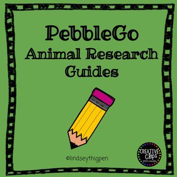 PebbleGo Animal Research Guides