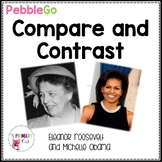 PebbleGo: Compare and Contrast Michelle Obama and Eleanor Roosevelt