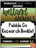 Pebble Go Research Booklet - Animal Habitats - Wetland Animals