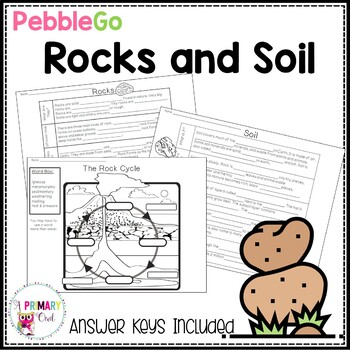 PebbleGo: Rocks and Soil