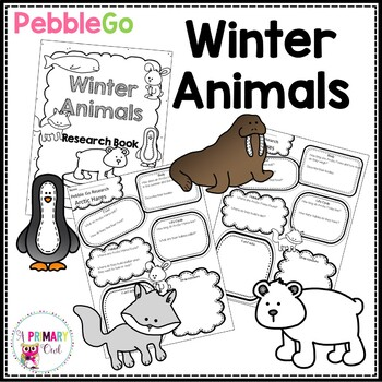 Pebble Go Winter Animals Research Posters