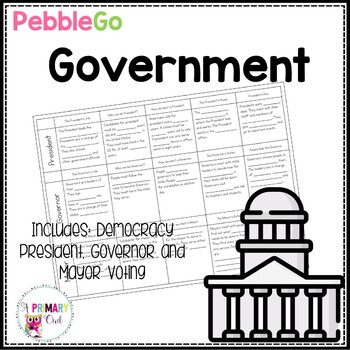 PebbleGo research: Government