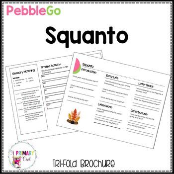 PebbleGo research brochure: Squanto